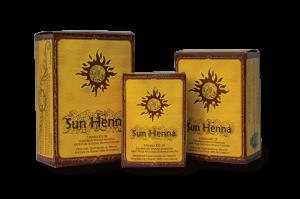 Sun Henna Kits for temporary tattoos