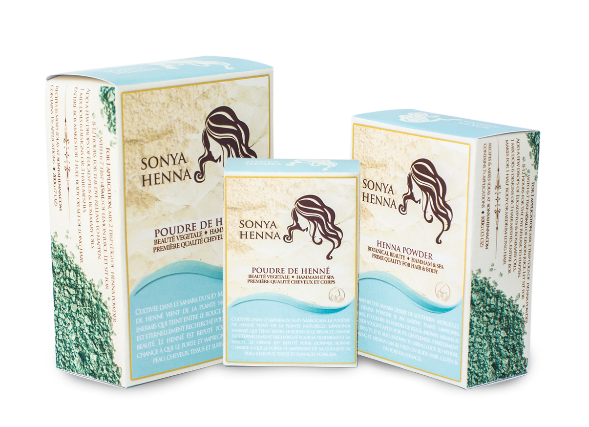 Sonya Henna products